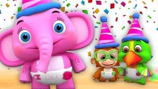 lagu selamat ulang tahun | lagu untuk anak-anak | Happy Birthday Song | Little Treehouse Indonesia