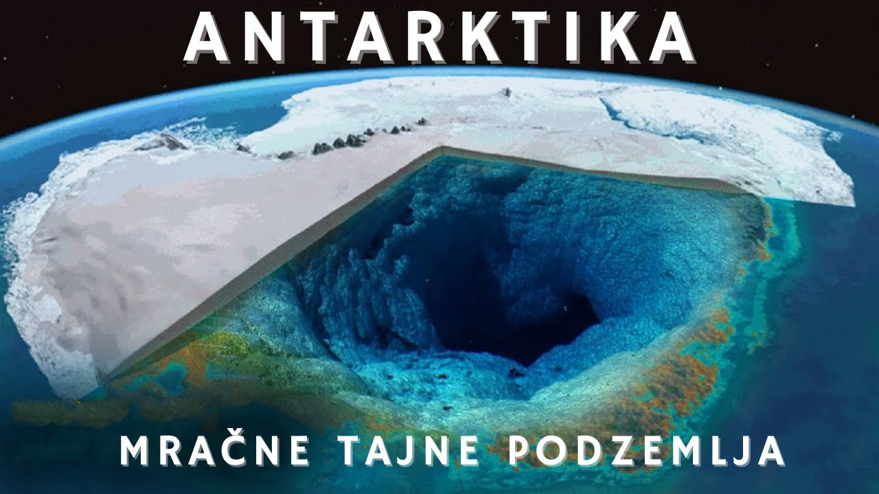 OTKRIĆE podzemnog kompleksa na Antarktici koje je promjenilo 20 STOLJEĆE.