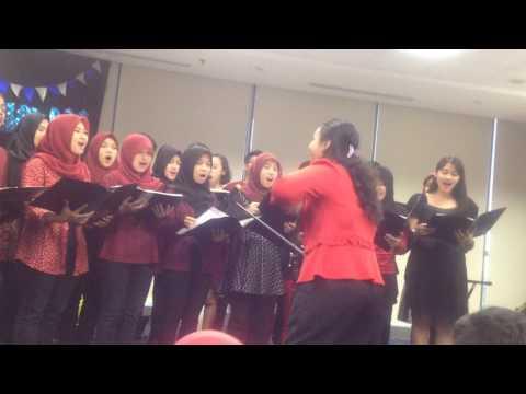 Gita Gutawa - Tak Perlu Keliling Dunia - Sampoerna University Choir