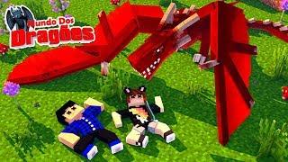 NUNCA MORREMOS TANTO 😮 - SÉRIE NOVA! Minecraft Mundo dos Dragões thumbnail