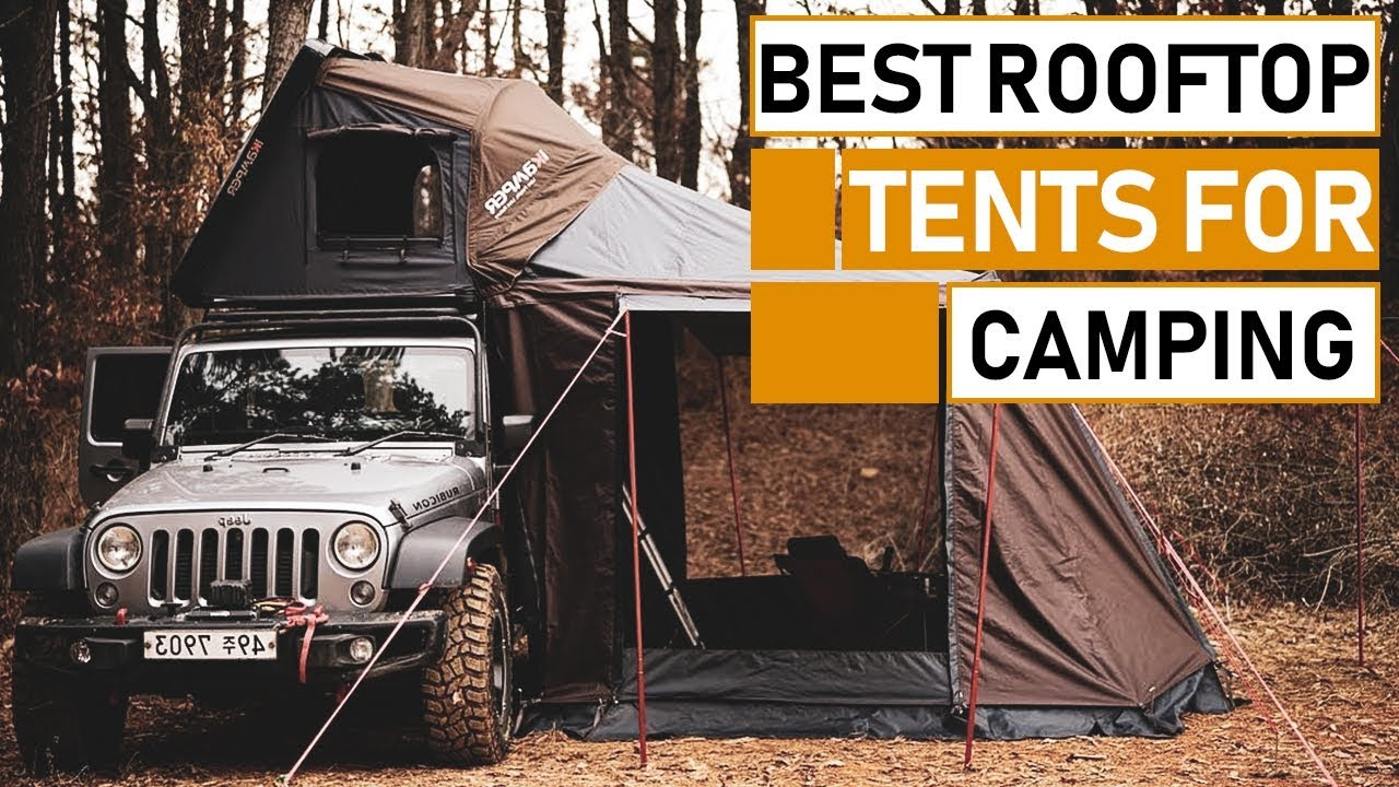 Amazing Rooftop Tents for Camping | Best Car & RV Tents