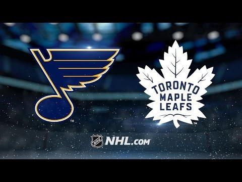 Tarasenko nets OT winner to lift Blues past Leafs