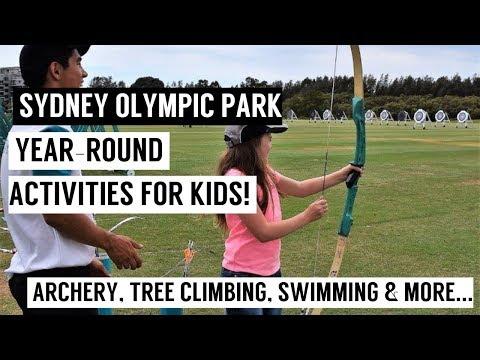 Sydney Olympic Park Aquatic Centre, Archery & More!