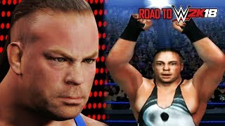 History Of Rob Van Dam In WWE Games! (RVD Evolution SD SYM - WWE 2K15) | WWE 2K18 Countdown