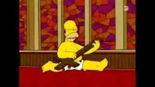 homero simpson canta ai seu te pego