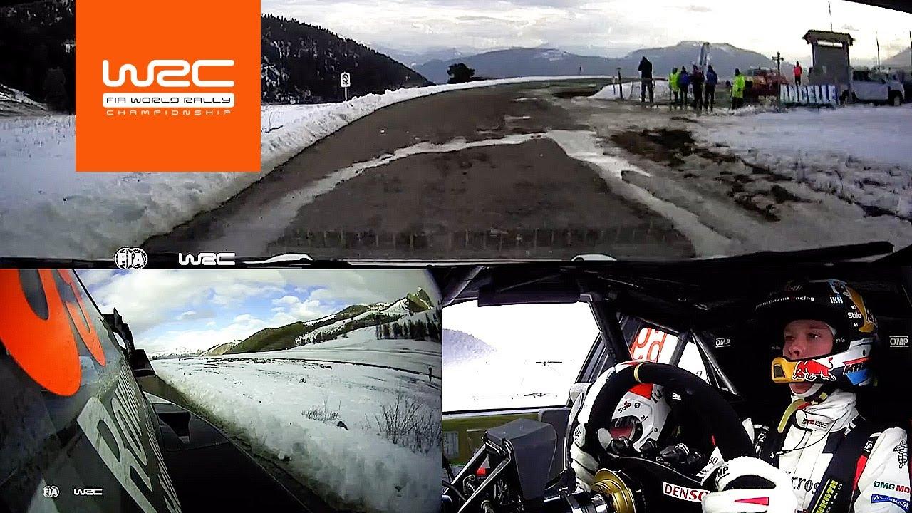 WRC - Rallye Monte-Carlo 2020: ONBOARD Rovanperä SS11
