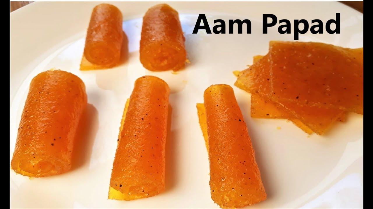Mango Papad : How to make Step by Step ! Aam Papad ! पके आम का चटपटा पापड़ (अमावट) ( Must Try 2020 )