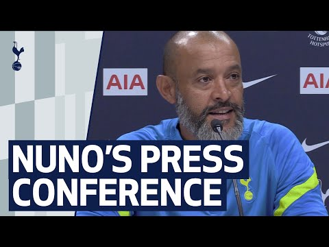 NUNO'S FIRST SPURS PRESS CONFERENCE!