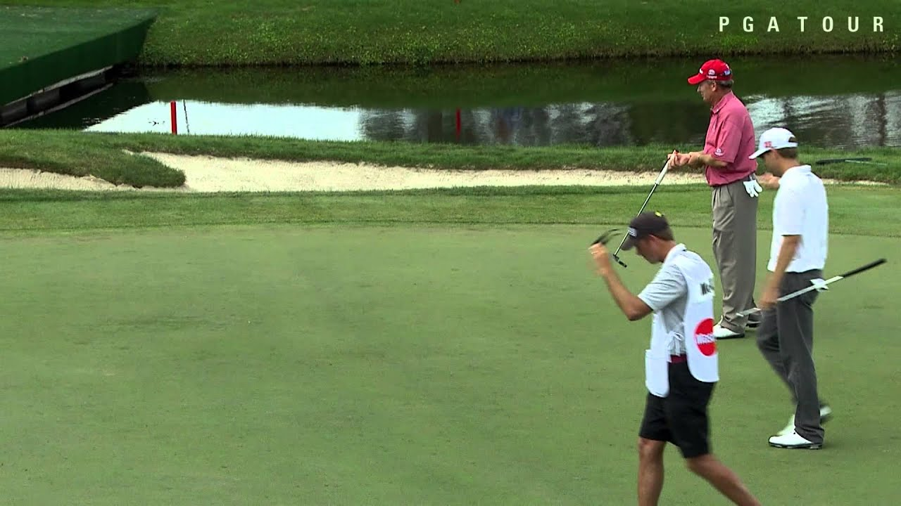 George McNeil sinks eagle on No. 16 at Arnold Palmer - YouTube