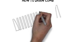 How To Draw Comb