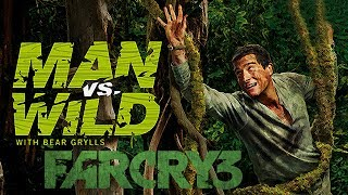 A Prova de Tudo - O Jogo com Bear Grylls (Far Cry 3 Man Vs Wild)