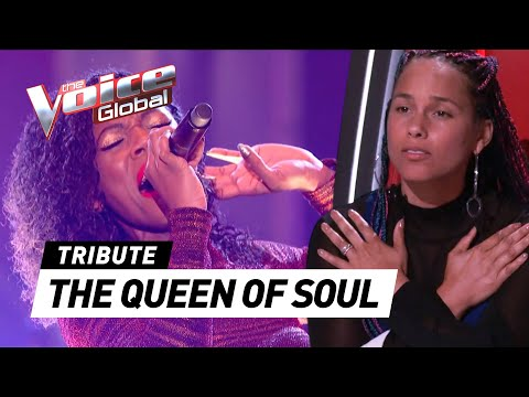 AMAZING Aretha Franklin covers in The Voice