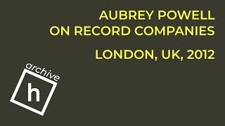 Aubrey Powell on Record Companies and Album Art