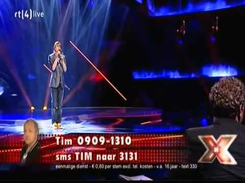The X Factor 2011 - Liveshow 1 - Tim: Someone Like You