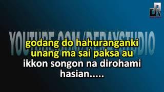 Karaoke Batak cover Nirwana Trio Janjikku Tu Ho 1