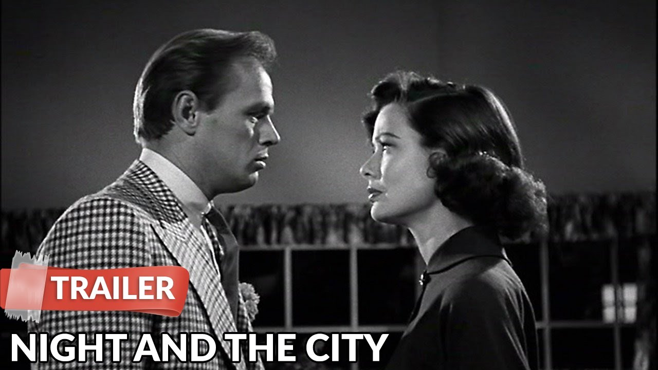 Night and the City 1950 Trailer | Richard Widmark