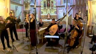 Bach: Orchestral Suite No.2 in B minor,BWV 1067 - VI. Menuett / Cuore Barocco *Baroque instruments*
