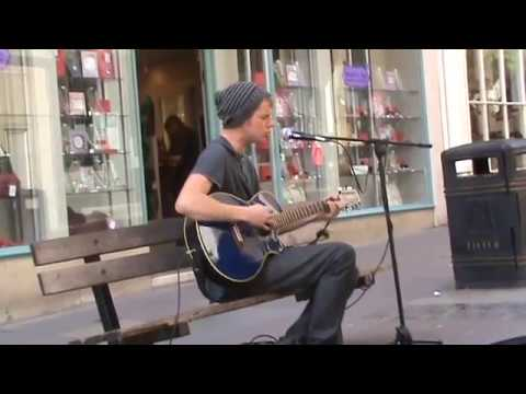 "Jake Wright performs ""Mr. Brightside"" in Bath Spa"