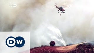 حرائق كاليفورنيا تواصل تمددها | الأخبار