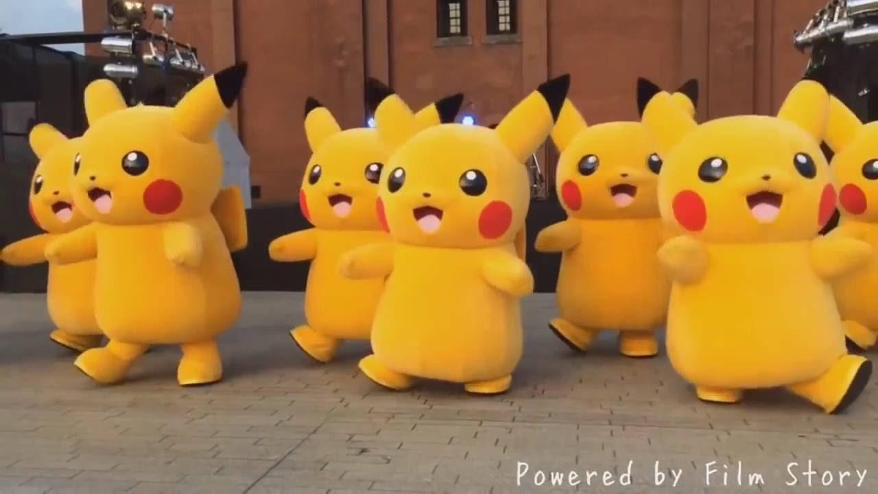 เพลง ปิกาจูแดนซ์ โปเกมอนๆ ปิก้าจู Pokemon Pikaju Dance Mix 2016 New