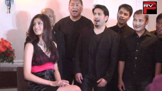 Cast of LA Revival of The Romance of Magno Rubio serenades Miss Philippines