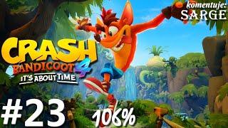 Zagrajmy w Crash Bandicoot 4: Najwyższy Czas (106%) odc. 23 - Skok do przeszłości