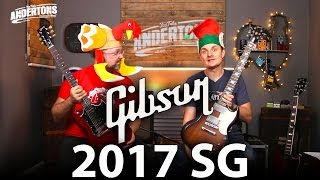 Gibson 2017 SG Shoot Out - Std vs Special vs Faded!