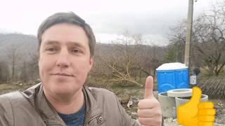 Строим дом в Сочи на горе с видом на море. Обзор участка. Изготовление каркасов свай.