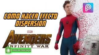 Como hacer meme - No me quiero ir señor stark - picsart - efecto dispersion Avenger