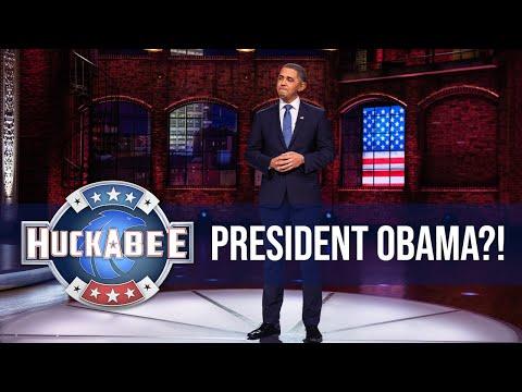 "We Got ""OBAMA"" In Our Studio(?!?!) | Huckabee"