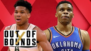 Russell Westbrook Averages Triple-Double (Again); NBA Playoff Predictions | Out of Bounds
