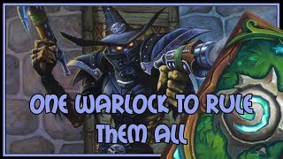 One warlock to rule them all | Cubelock | The Witchwood | Hearthstone