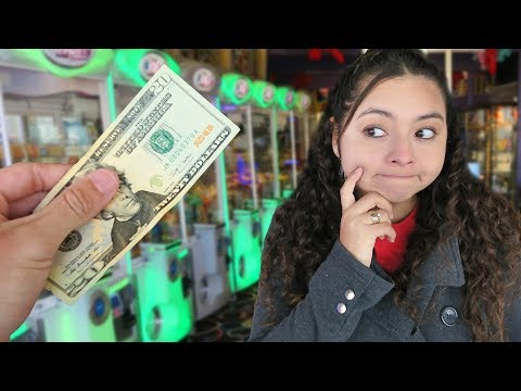 $20 Arcade Claw Machine Challenge!