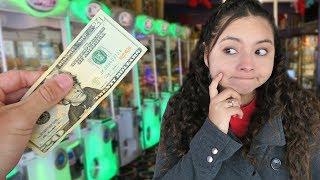 $20 Arcade Claw Machine Challenge!