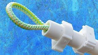 НЕРЕАЛЬНО крутая самоделка из ПП труб для дома! Сделай полезное приспособление из пластиковых труб!