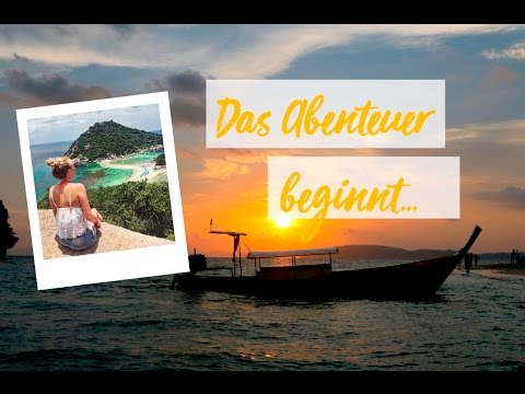 Hello Koh Tao! ✈  Backpacking in Thailand