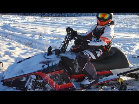 MODIFIED Mountain Yamaha Phazer Snowmobile! (King Phazer | Part 9)