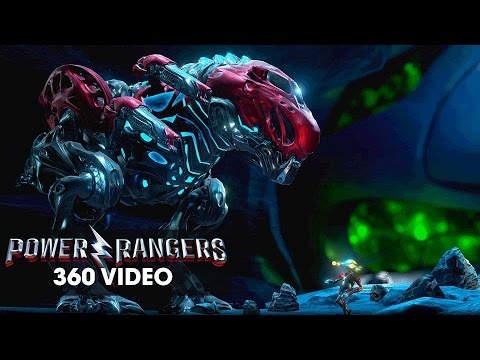 Power Rangers (2017 Movie) Zords Rising 360 Video