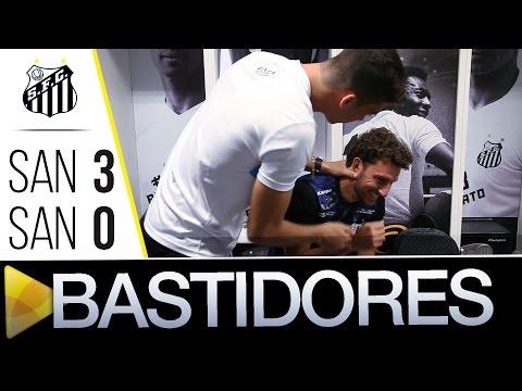 Santos 3 x 0 Santos (AP) | BASTIDORES | Copa do Brasil (28/04/16)