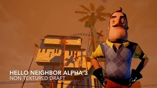 Hello Neighbor December Update: Alpha 3 First Footage