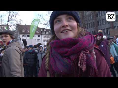 """Fridays for Future in Freiburg: """"Wir sind die letzte Generation, die noch was ändern kann"""""""