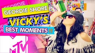 GEORDIE SHORE BBB | VICKY'S BEST MOMENTS!! | MTV