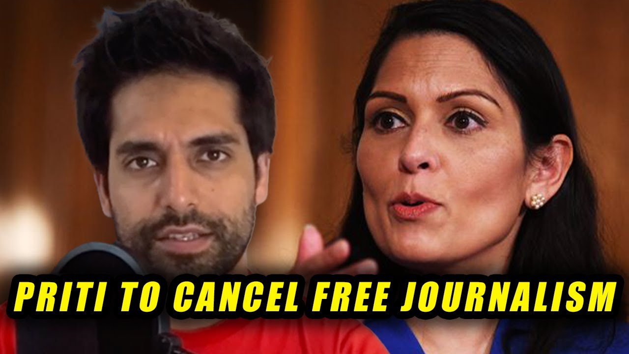 OUTRAGEOUS!! Priti Patel To Put Political YouTubers Behind Bars For Embarrassing Boris' Government 😡