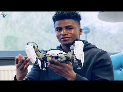 A 26 year old Nigerian is now the highest paid robotics engineer in the world