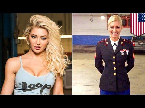 Hot marine women