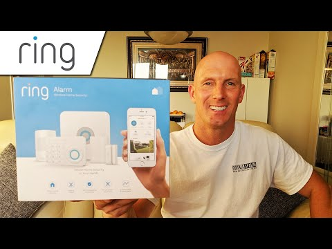 Ring Alarm Home Security System (4K) Full Setup & Installation