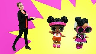 Видео для девочек - Кукла ЛОЛ превращается в русалочку