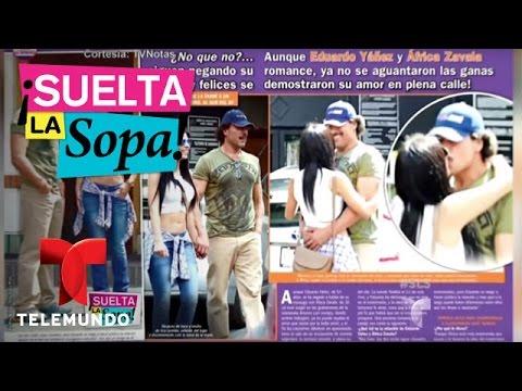 Suelta La Sopa |  Captan a Eduardo Yáñez y África Zavala comiéndose a besos | Entretenimiento