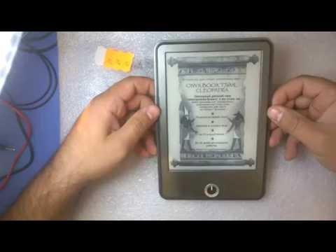 Mobix96.ru Как разобрать электронную  книгу ONYX T76ML