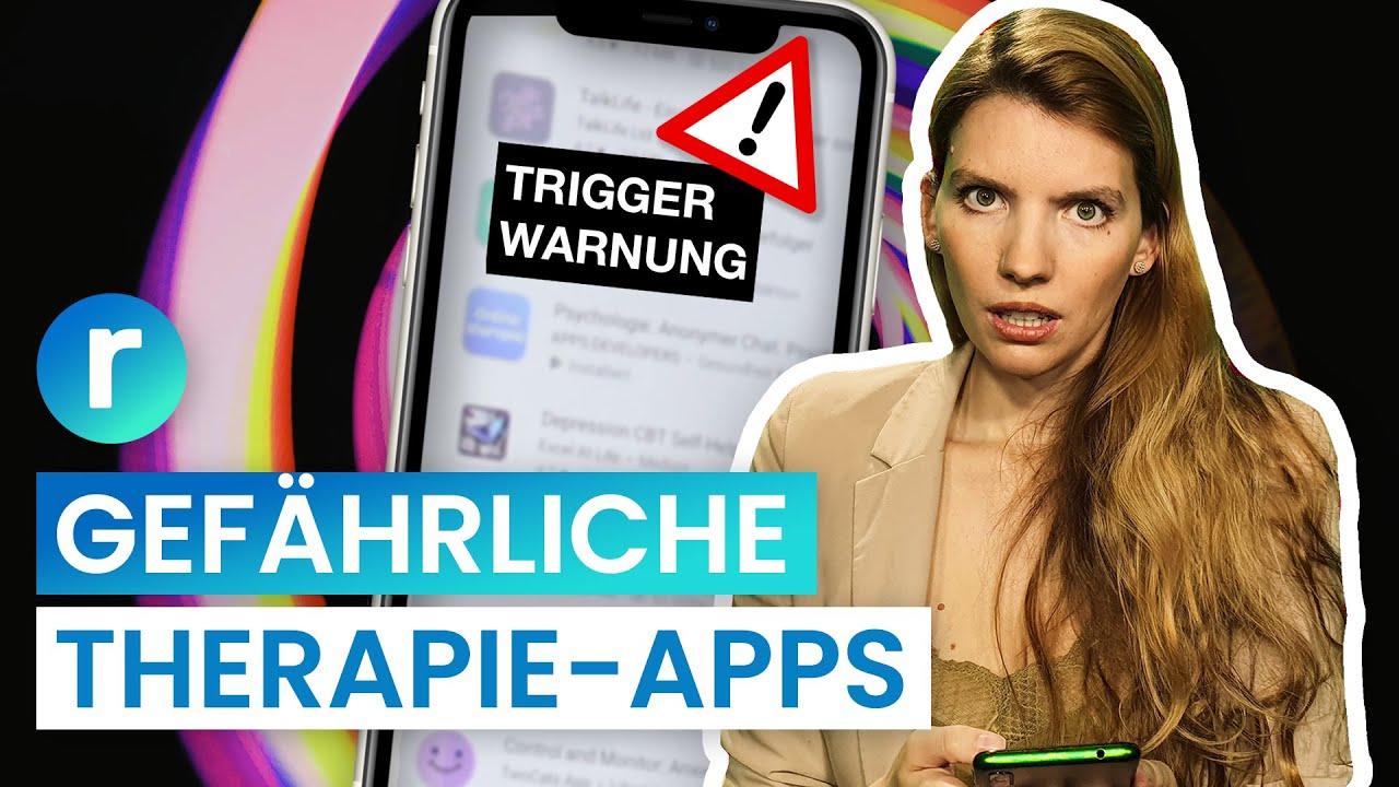 Trigger statt Therapie: Wegen dieser App mussten wir zur Polizei feat. @psychologeek I reporter